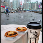 Granville Island - Mincemeat Pies and JJ Beans Coffee