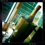 Champagne - For Two.  Fairmont Gold - Pacific Rim Vancouver.