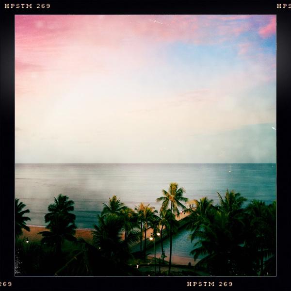 Morning Runs Start at Queen's Beach, Waikiki, Oahu, Hawaii