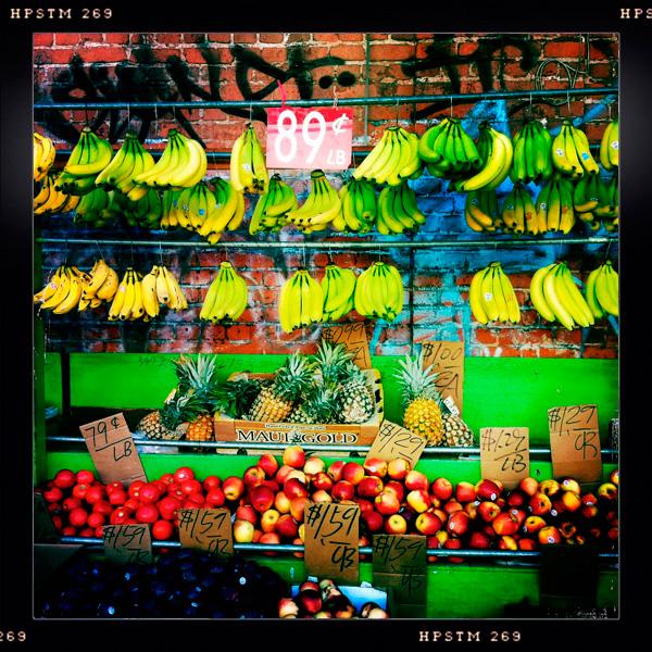 Fruit Stand, Chinatown, Honolulu