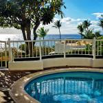 My Plunge Pool at the Villa at Fairmont Kea Lani Resort in Maui Hawaii