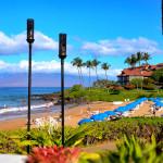 A day at the beach, Polo Beach, Fairmont Kea Lani Resort in Maui Hawaii