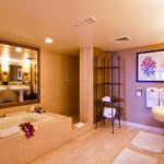 Villa Master Bath, Fairmont Kea Lani Resort in Maui Hawaii