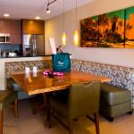 Kitchen in Villa at Fairmont Kea Lani Resort in Maui Hawaii