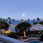 That's the Moon Rise, Fairmont Kea Lani Resort in Maui Hawaii