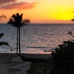 Every day was a beautiful sunset at Fairmont Kea Lani Resort in Maui Hawaii
