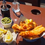Halibut Fish and Chips at Pajo's Fish and Chips Steveston Village,  Richmond