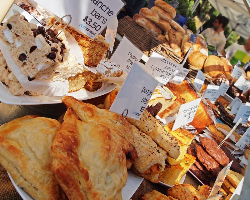 West End Farmers Market - Summer. Purebread.