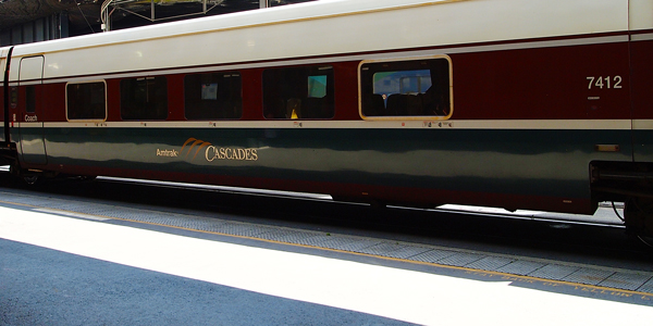 Amtrak Cascades Rail from Vancouver to Seattle