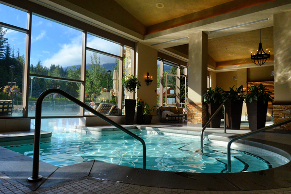 Fairmont Chateau Whistler - Health Club Pools