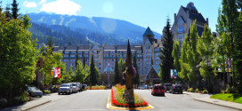 Fairmont Chateau Whistler - Entrance - Summer