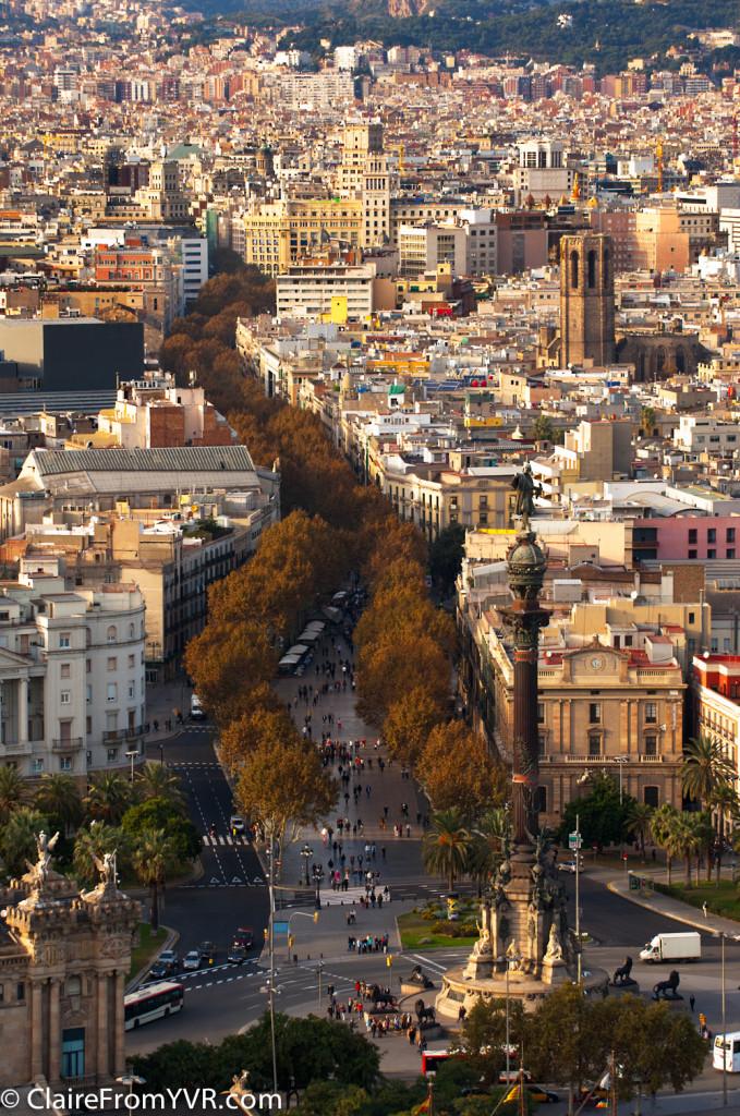 Las Ramblas - Barcelona's most famous Street