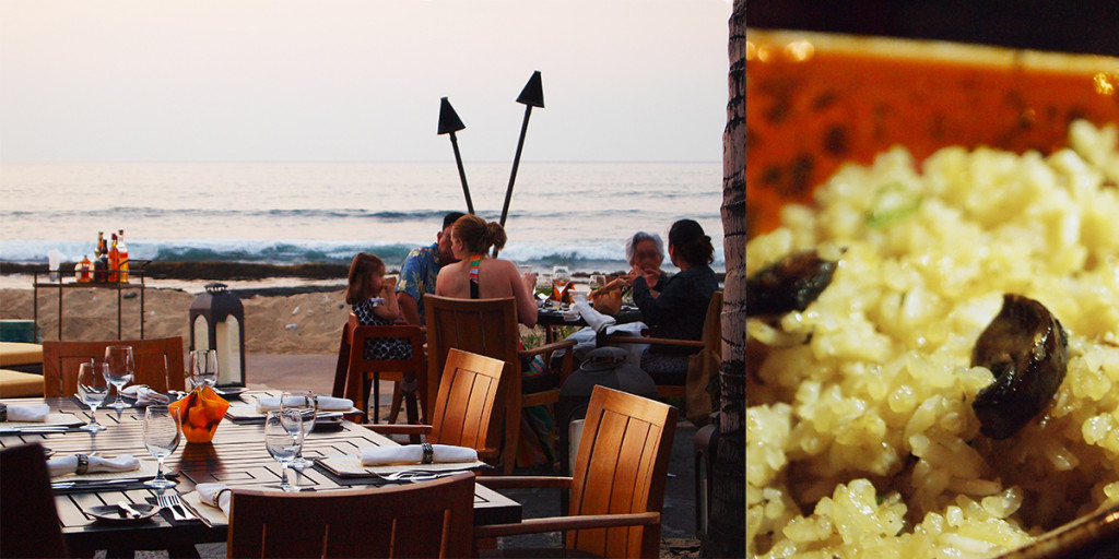 Mushroom Fried Rice, ULU Ocean Grill at Four Seasons Resort Hualālai.