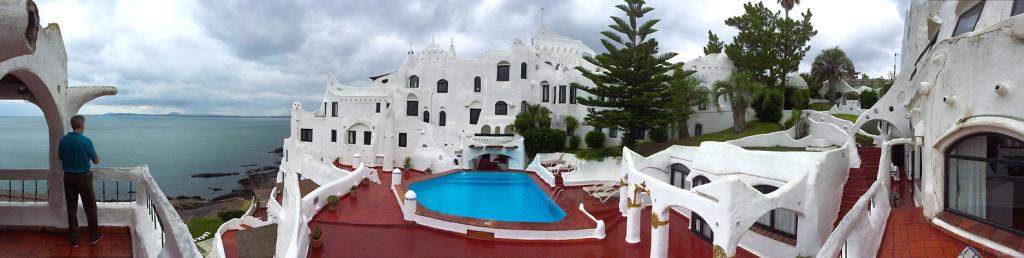 Panorama of Casapueblo (credit: BerniFromYVR)