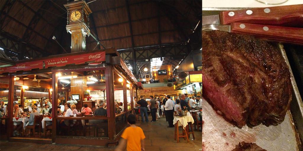 Mercado del Puerto, Montevideo Uruguay.