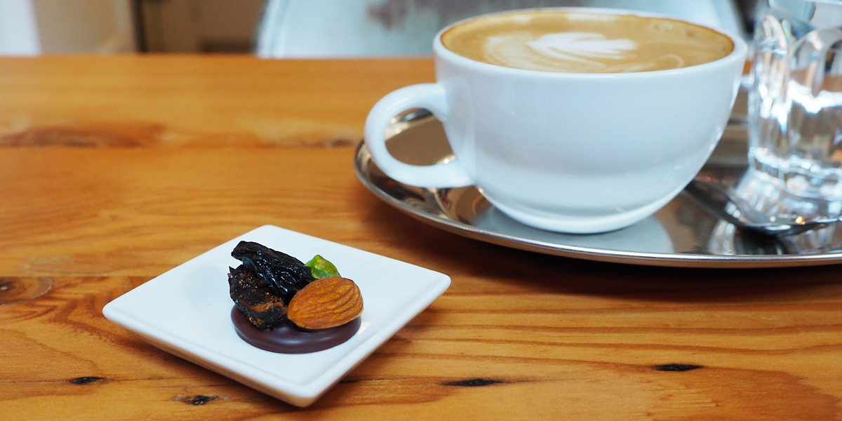 East Van Roasters - Artisan Chocolate Fruit Mendiant and Fine Espresso.