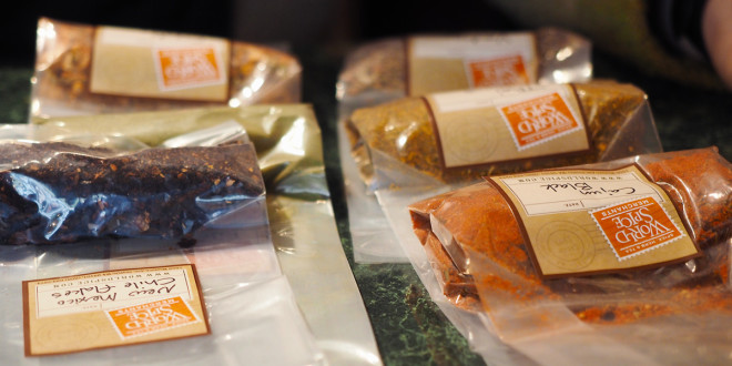 My spices ready to take home. World Spice Merchants - Seattle