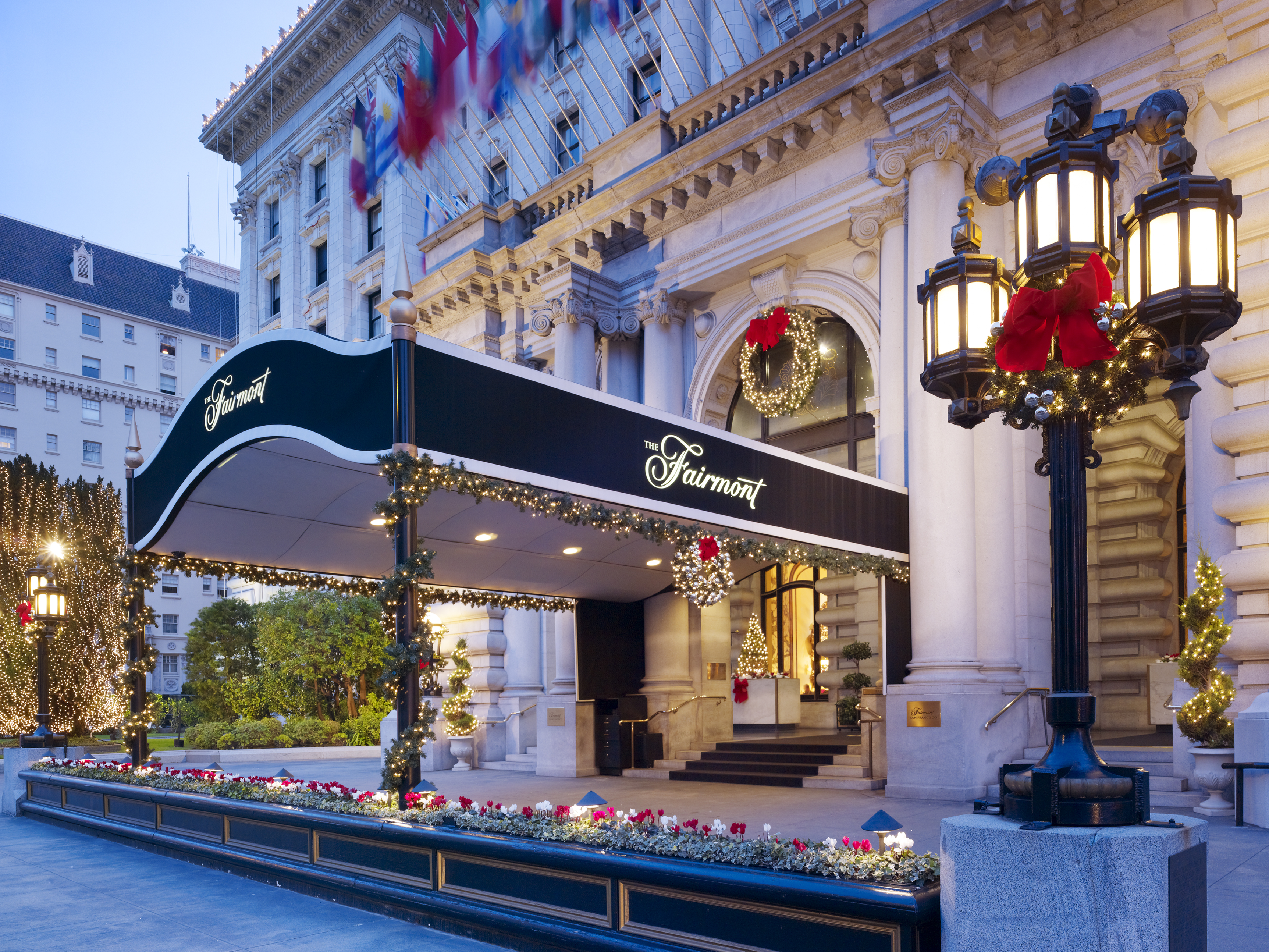 The Fairmont San Francisco In The Heart Of The City By The