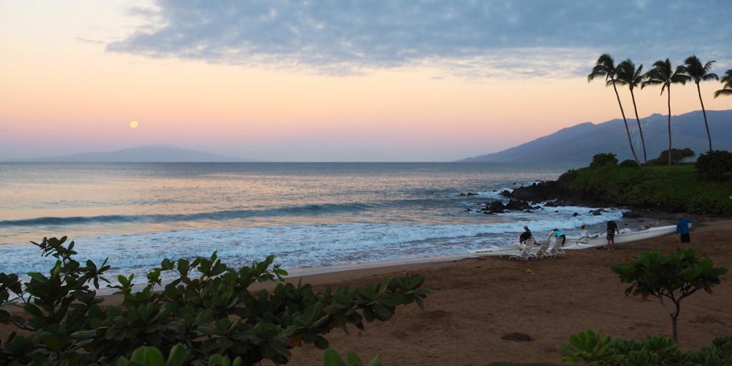 Fairmont Kea Lani Villa - Amazing Sunrise