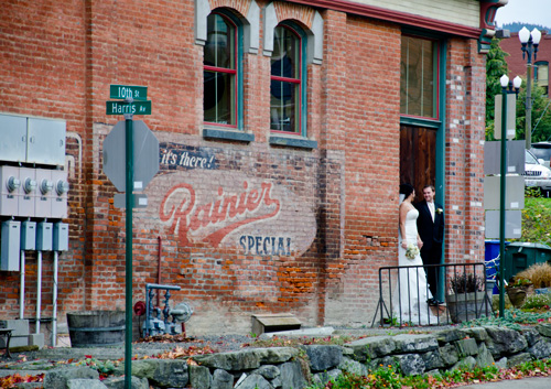 Bellingham, Washington - Historic downtown wedding