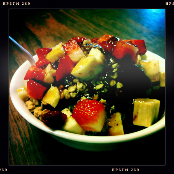 Acai Bowl from Diamond Head Cove Health Bar, Honolulu, Oahu, Hawaii