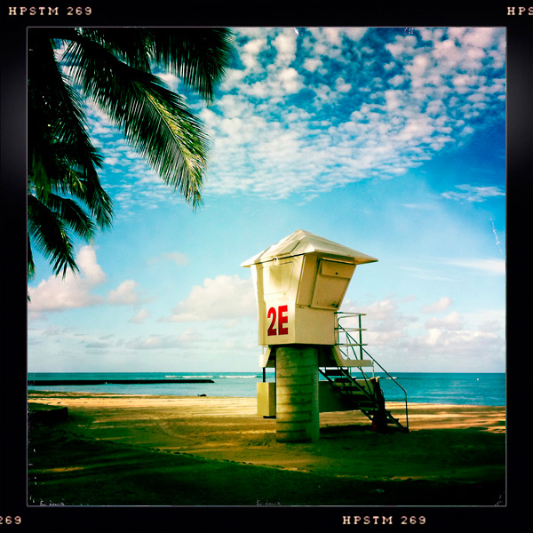 Lifeguard Station, Queen's Beach, Kapiolani Park, Waikiki, Oahu