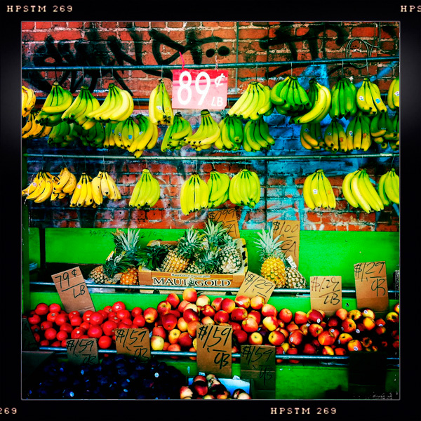 Fruit Stand, Chinatown, Honolulu