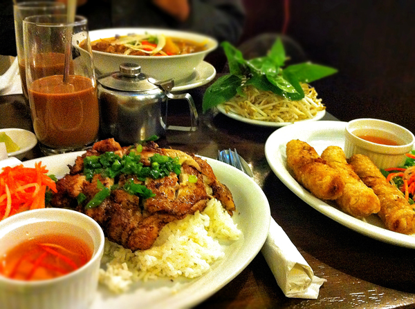 Lunch at Joyeaux Cafe and Restaurant Vietnamese Vancouver