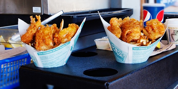 Pajo s tasty fish and chips in steveston village richmond for Best fish and chips in san diego