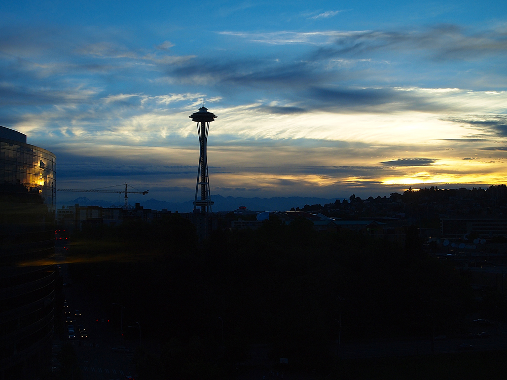 Pan Pacific Seattle - View of Space Needle