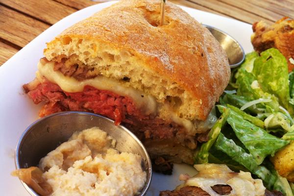 Fairmont Chateau Whistler - Mallard Lounge - Roast Beef Sandwich