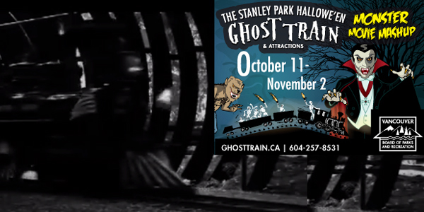 Stanley Park Miniature Train - 2013 Halloween Ghost Train, Vancouver