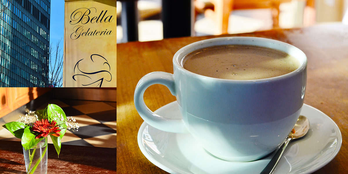 Bella Gelateria - Black Sesame Hot Chocolate