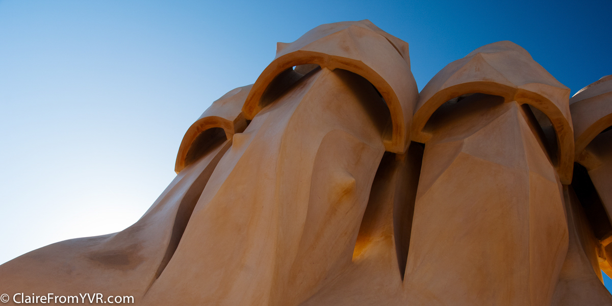 La Pedrera by Antonio Gaudí's, Barcelona Spain