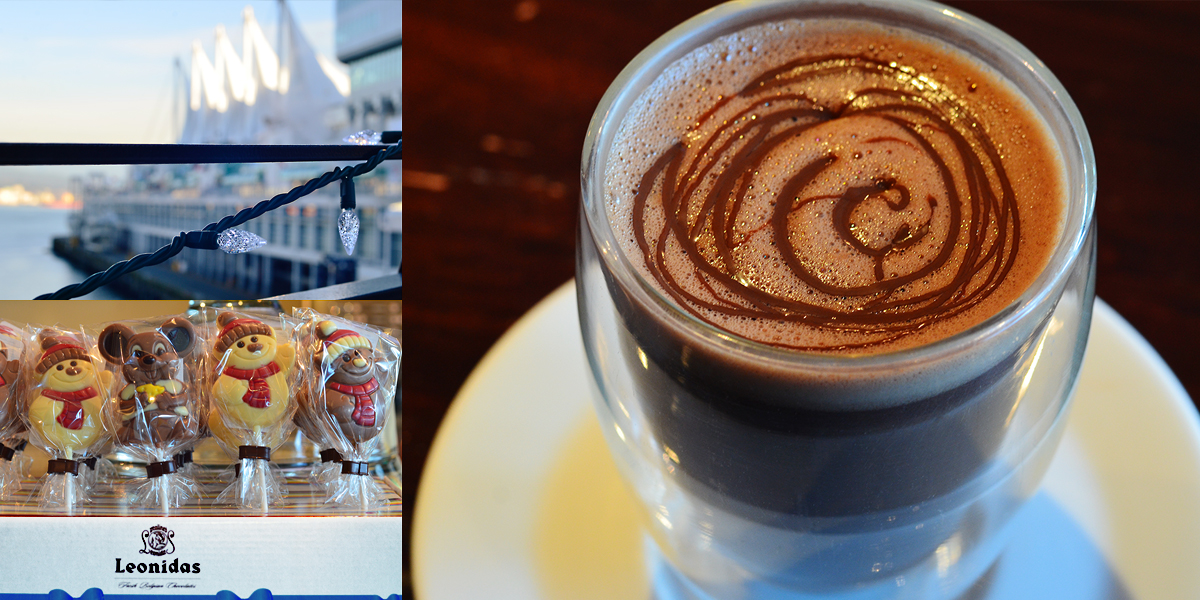Leonidas Vancouver Special Hot Chocolate