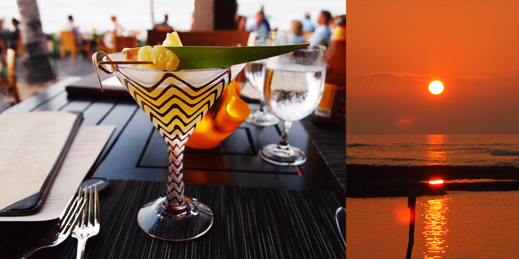 Pineapple & Honey Island Inspired Cocktail, ULU Ocean Grill at Four Seasons Resort Hualālai.