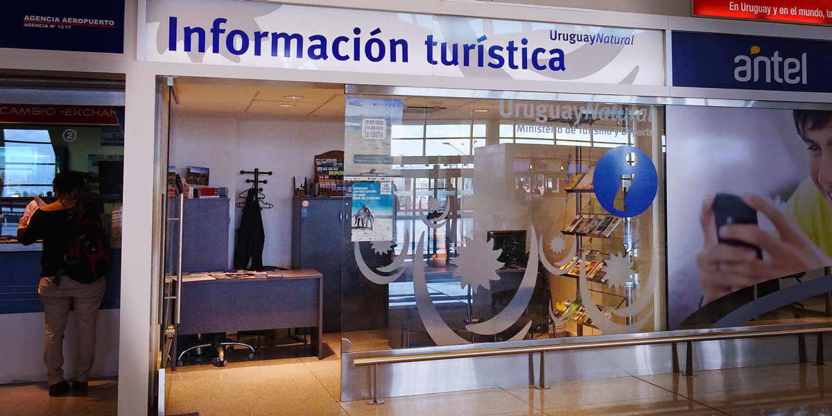 Tourist Office at Montevideo Airport