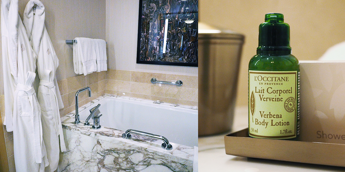 Four Seasons Hotel Seattle - Beautiful, Thick Robes, Luxury Amenities