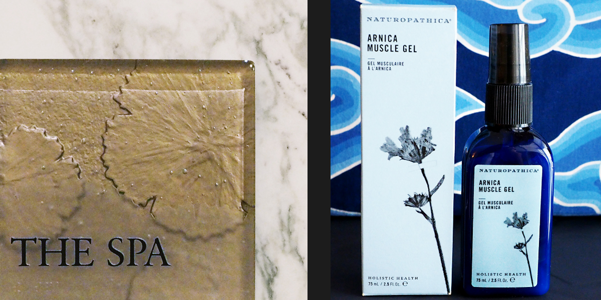 Four Seasons Hotel Seattle - Spa and Arnica Muscle Gel
