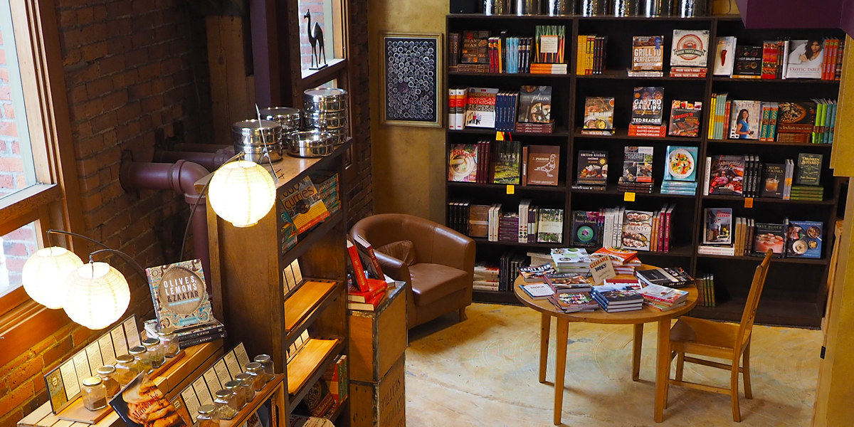 Cookbooks for inspiration. World Spice Merchants - Seattle.
