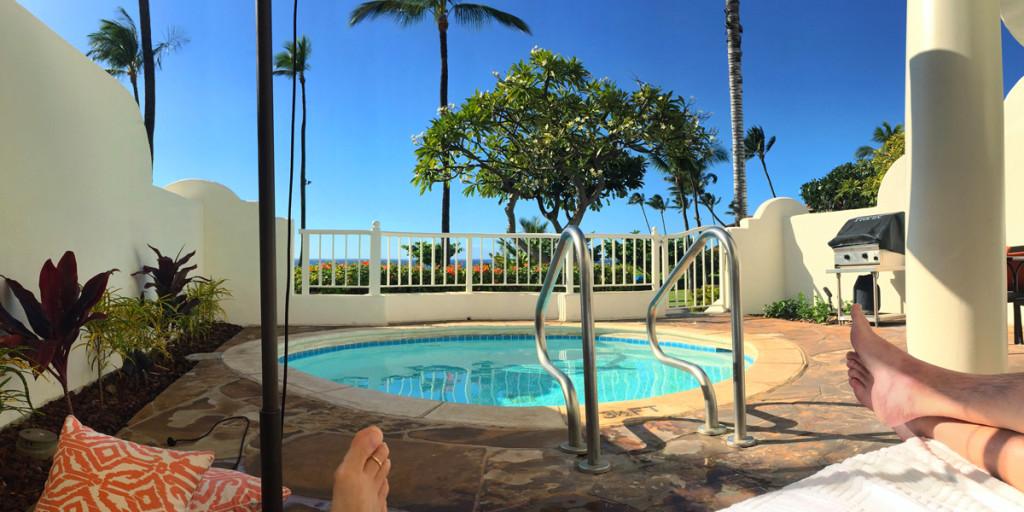 Fairmont Kea Lani Villa - Plunge Pool