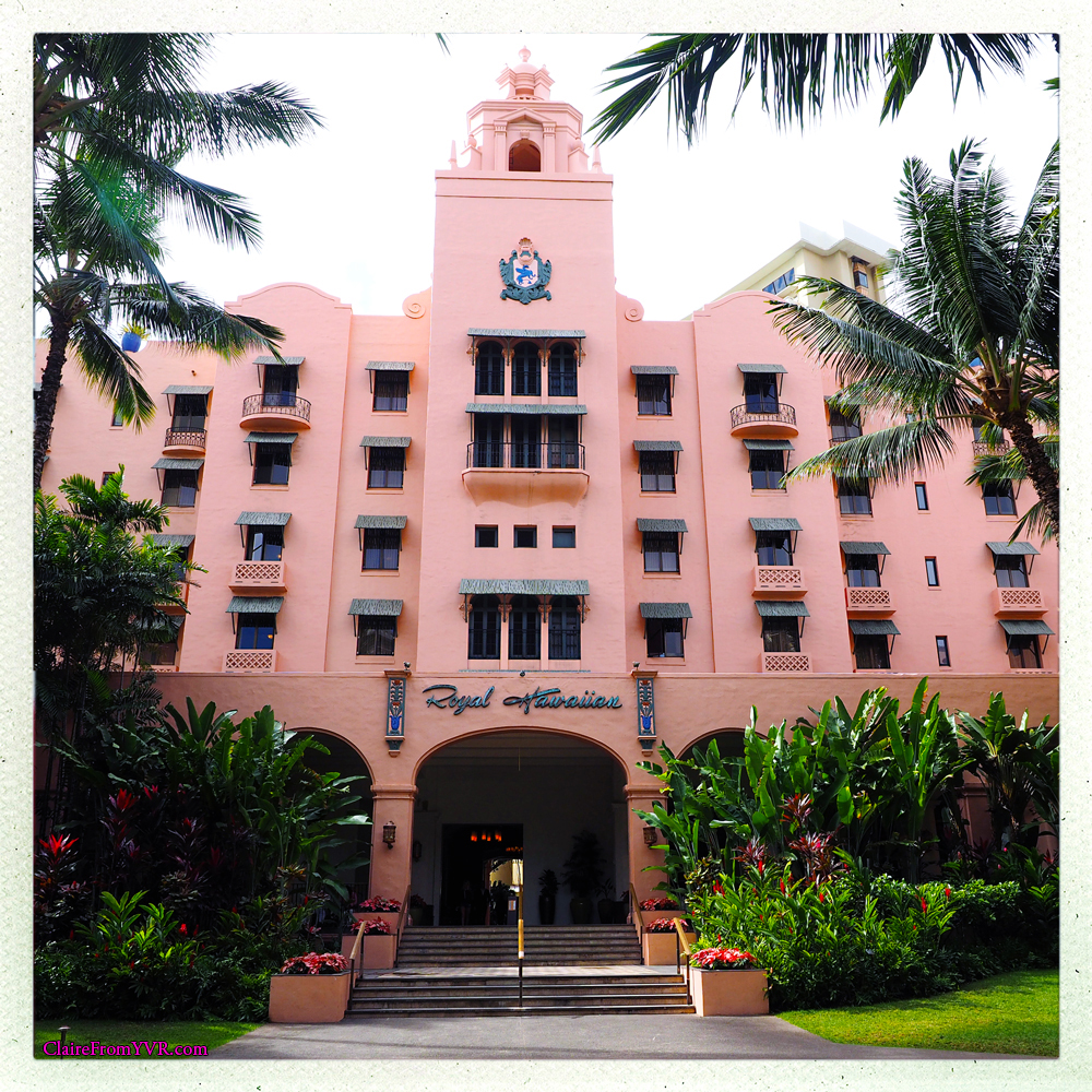 The opening of The Royal Hawaiian, a Luxury Collection Resort, ushered in a new era of luxurious resort travel to Hawaii. The hotel was built at a price tag of $4 million. The six-story, 400-room structure was fashioned in a Spanish-Moorish style, popular during the time period and influenced by screen star Rudolph Valentino.